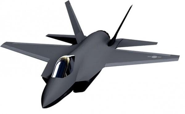 KFX-E (concepto del artista: Corea Industrias Aeroespaciales)