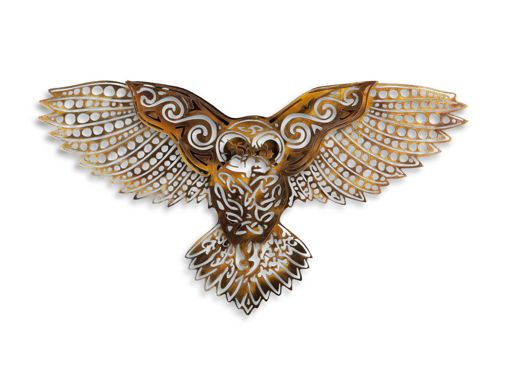 Celtic Owl Willowsteel