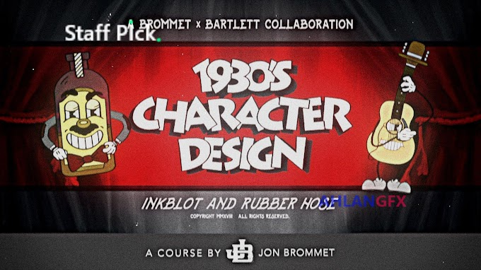 Skillshare - 1930's Character Design Illustrate Iconic Characters