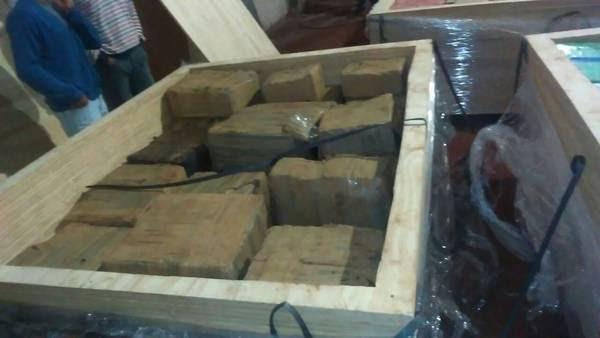 Hallan más de 5 mil kilos de marihuana en un depósito misionero.