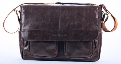 Kelly Moore Camera Bag Kelly Boy Brown - Front View