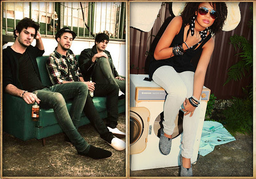 Street and Urban Fashion Advertising, Billie Shoes