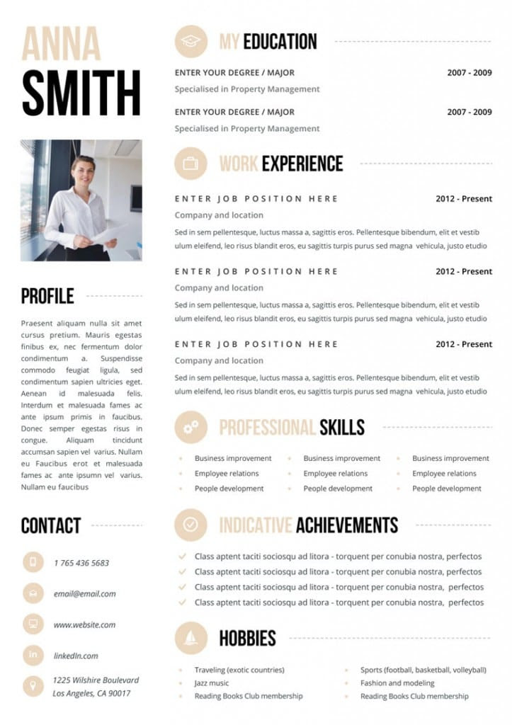Looking For A Job? You Need One Of These Killer CV Templates From Etsy  Career Girl Daily