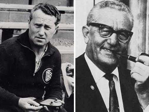 Los fundadores de Adidas y Puma eran dos hermanos (Adi y Rudolf) que eran socios de la empresa de calzado Dassler hermanos Deporte en los años 1920 y zapatos incluso suministrados a oro africano-americano atleta ganó la medalla de Jesse Owens durante los Juegos Olímpicos de 1936.