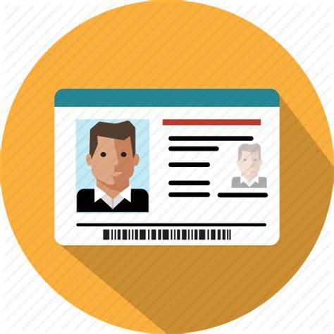 card document id identification identity passport icon