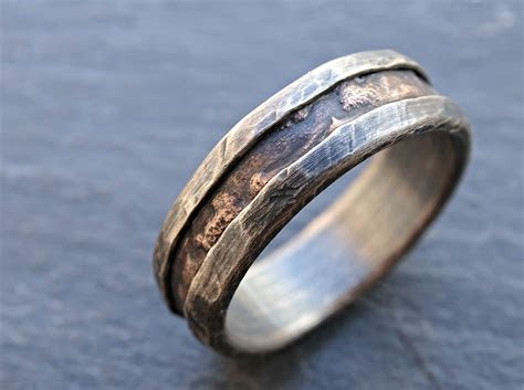 buy  hand  cool mens ring alternative wedding band
