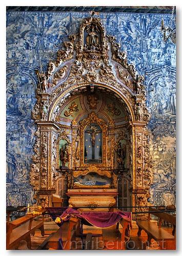 Altar lateral da igreja de S. Pedro em Faro by VRfoto