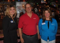 Patti Klapchar, Tina Trainer Hogue, Carl Bieber and Pamela Gockley present at Buca di Beppo #Reading