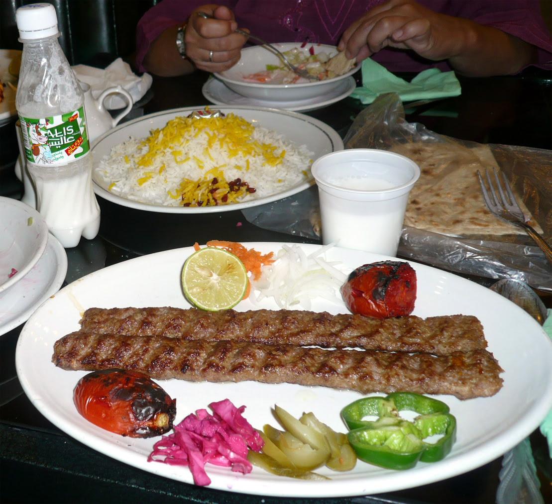 kebab de kefta iraní