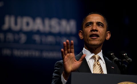 President Obama spoke at the 71st General Assembly of the Union for Reform Judaism.