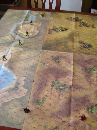 FRR unit hit in the Flank