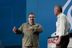 Brian Geiger and Greg Bollella, JavaOne Keynote, JavaOne + Develop 2010 San Francisco