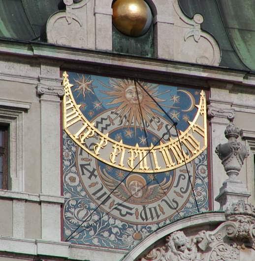 Relógio Solar - Museu da Ciência em Munique