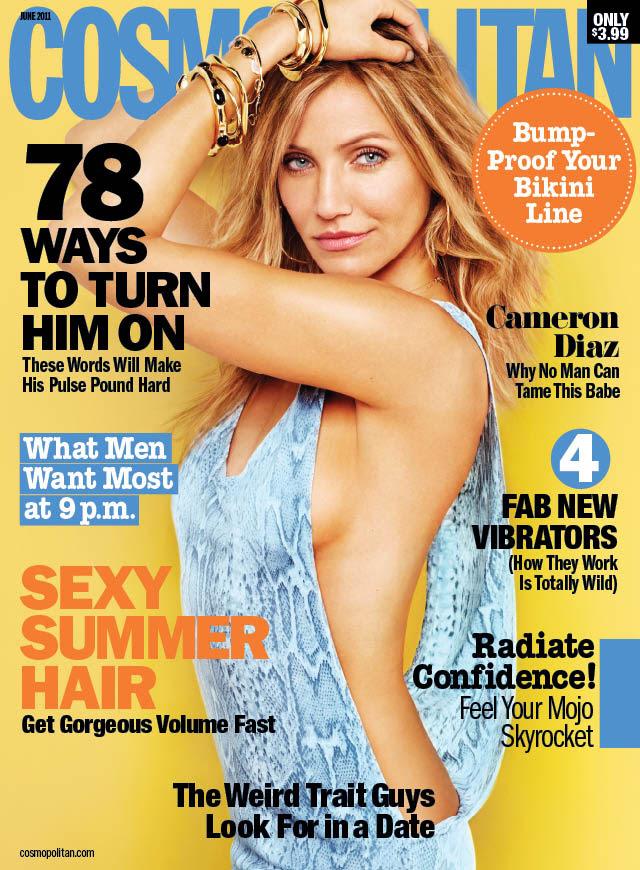 cameron diaz cosmopolitan cover. I told you yesterday - Cameron