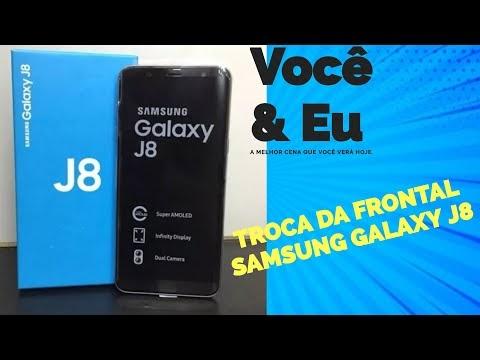 Como trocar  frontal Samsung J8