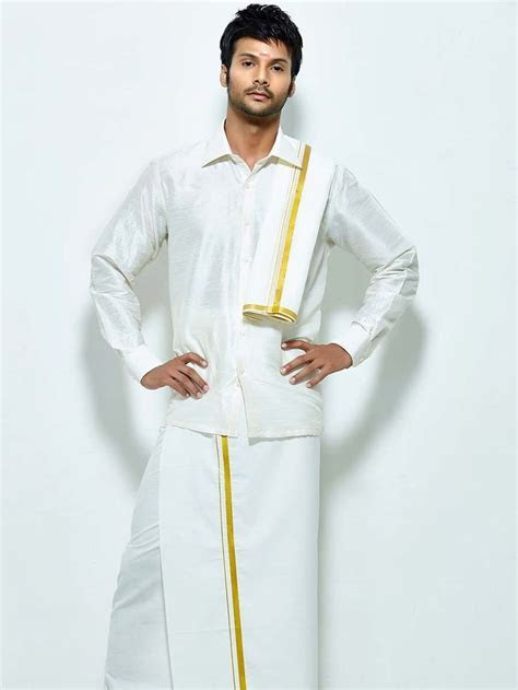 south indian groom attire   Google Search   Indian wedding