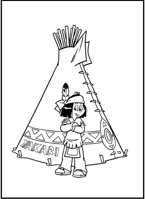 Yakari Coloring Pages - Coloring Home