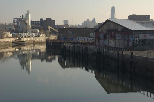 Gowanus Canal, North Side of Ninth Street Bridge