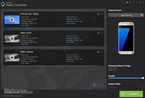 ashampoo video converter    windows