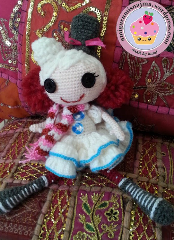 lalaloopsy winter snowflake crochet doll amigurumi-08