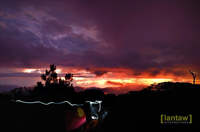 Mt. Pulag sunset (Camp 2)