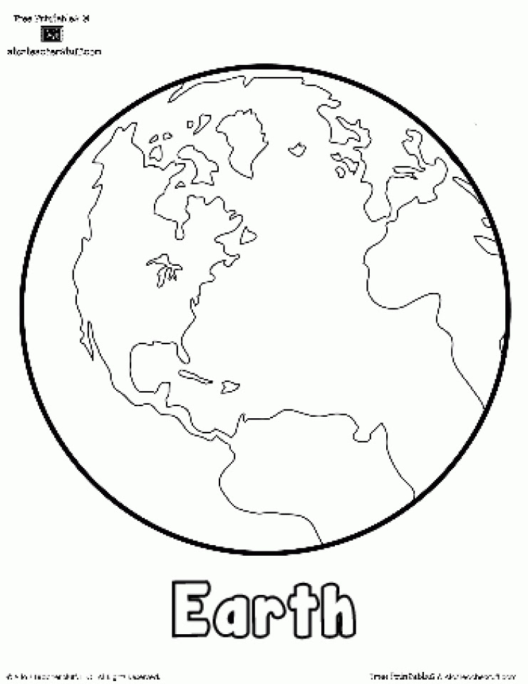 Get This Printable Earth Coloring Pages 7ao0b