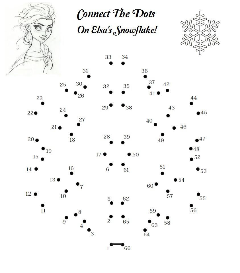 Activité  imprimer La reine des neiges