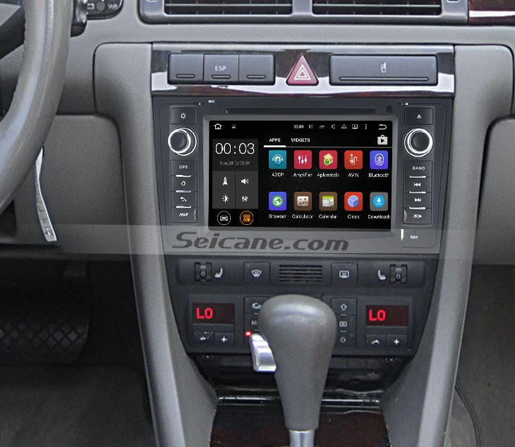 2006 Audi A6 Aftermarket Stereo