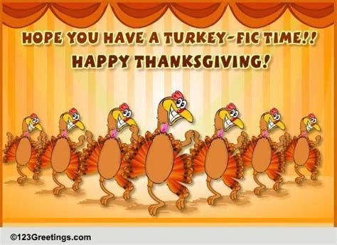 Mega Turkey Dance! Free Turkey Fun eCards, Greeting Cards