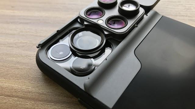 【iPhone專用擴充鏡頭】Freedom 擴充鏡頭手機殼 帶來瀘鏡、魚眼鏡、廣角鏡、微距鏡
