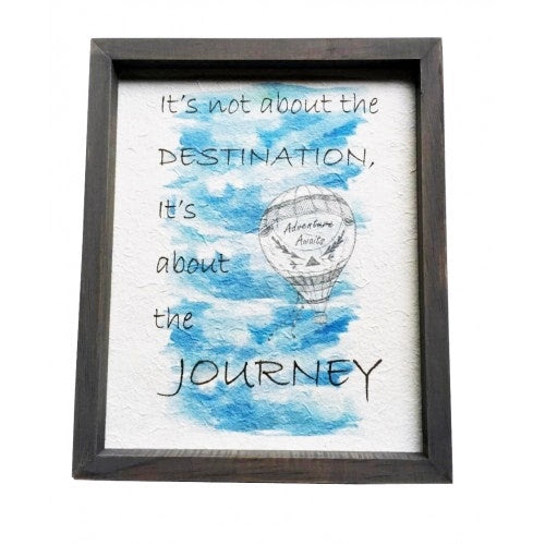 Hot Air Balloon In A Frame Gifts 4 All