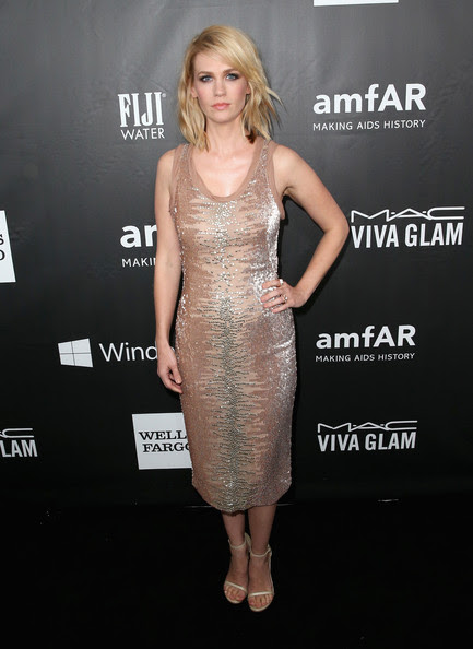 January Jones in Tom Ford