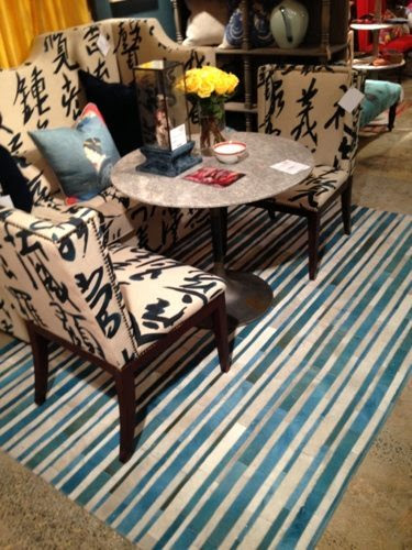 Design Legacy By Kelly Oneal Innovative Leather Patch Work Rug At