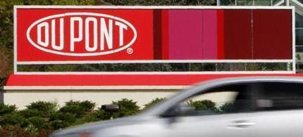 A view of the DuPont logo on a sign at the DuPont Chestnut Run Plaza facility near Wilmington, Delaware, April 17, 2012. (photo: Reuters/Tim Shaffer)
