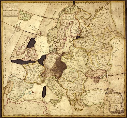 Spilsburys Jigsaw Puzzle Map 1766