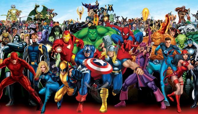 Kumpulan Gambar Gambar Superheroes Blognya Penjagagunung