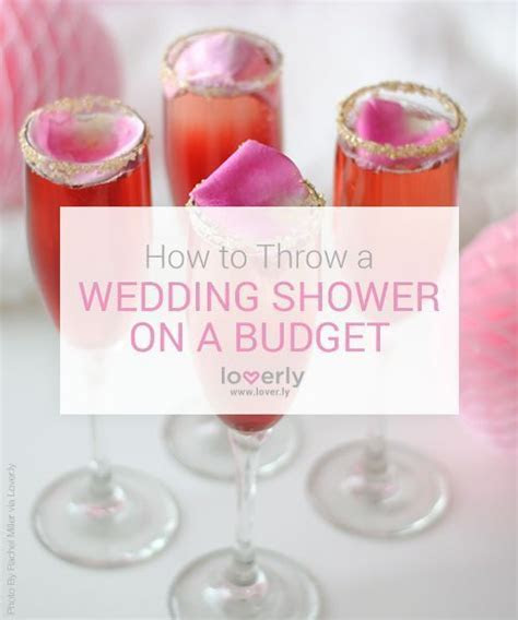 10 Ways to Throw a Wedding Shower on the Cheap   Kiss My
