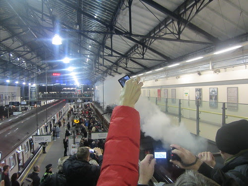 Steam Train at Earls Court 3