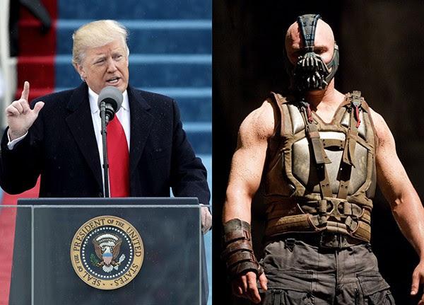 Trump Cita Frase De Vilão De Batman Em Discurso De Posse Monet