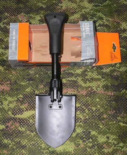 Gerber Gorge Folding Shovel - Gerber Pala Plegable Extendida 1