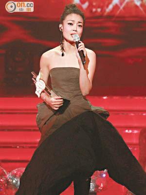 容祖兒第11次奪得「最受歡迎女歌星」,認真威水!