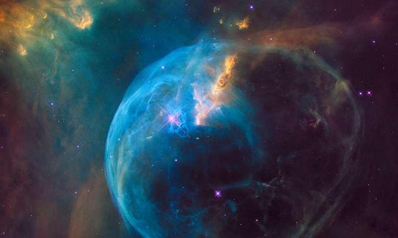 hubble 26 anos bolha estrela