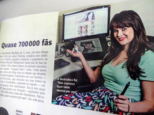 Ila Fox, Veja BH, Webcelebridade, Belo Horizonte, Londrina, Santa cruz do Rio Pardo, Ilustradora