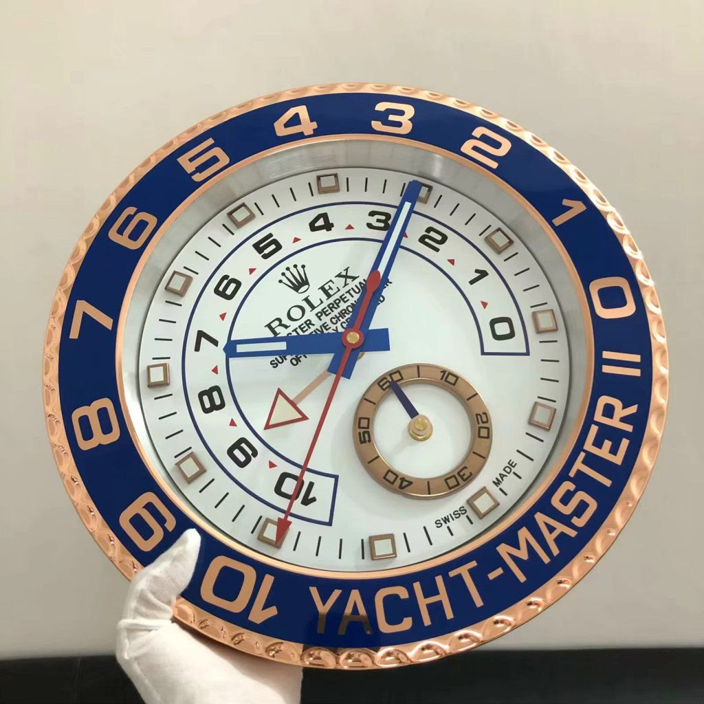 Rolex YachtMaster Wall Clock