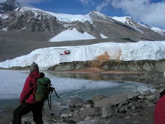 Καταρράκτες αίματος στην Ανταρκτική!
