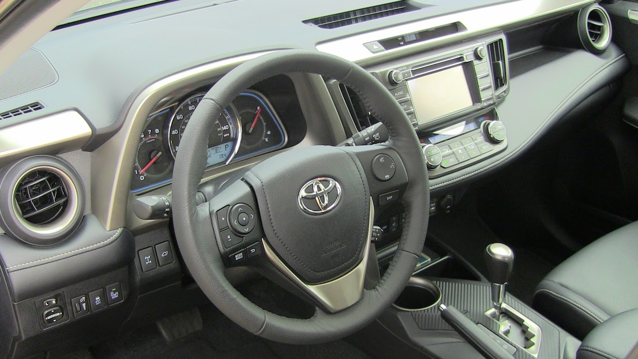 Review 2013 Toyota Rav4 Limited Awd No Longer Small But Good The Fast Lane Car