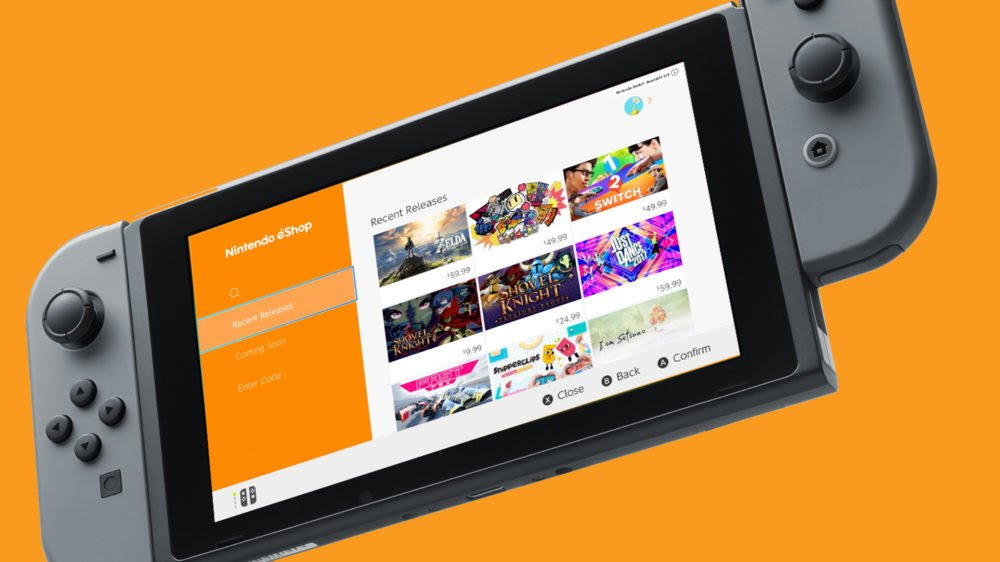 You can now save your credit card information on the Switch eShop screenshot