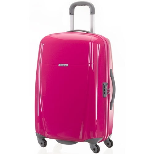 best carry on luggage samsonite bright lite 20 carry on hardside spinner luggage bright pink. Black Bedroom Furniture Sets. Home Design Ideas