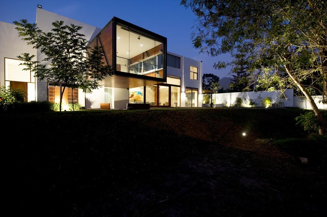 fachada, Casa VA, David Mutal Arquitectos