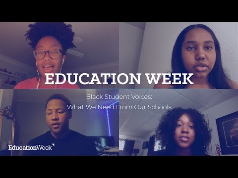 "Black Student Voice: ""We don't need teachers to tell us what we need."""